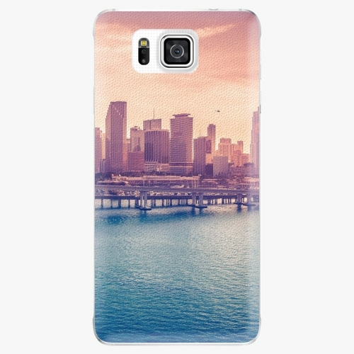 Plastový kryt iSaprio - Morning in a City - Samsung Galaxy Alpha