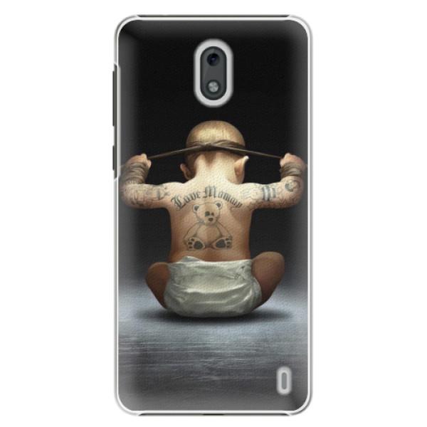 Plastové pouzdro iSaprio - Crazy Baby - Nokia 2
