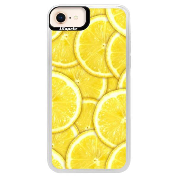 Neonové pouzdro Pink iSaprio - Yellow - iPhone 8