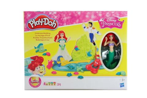 Play-Doh Podmořská svatba princezny Ariel