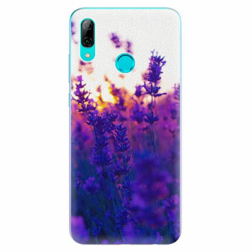 Silikonové pouzdro iSaprio - Lavender Field - Huawei P Smart 2019