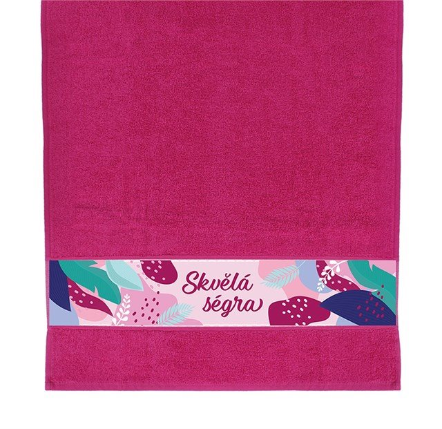 Dárkové ručníky - Ručník - Skvělá ségra