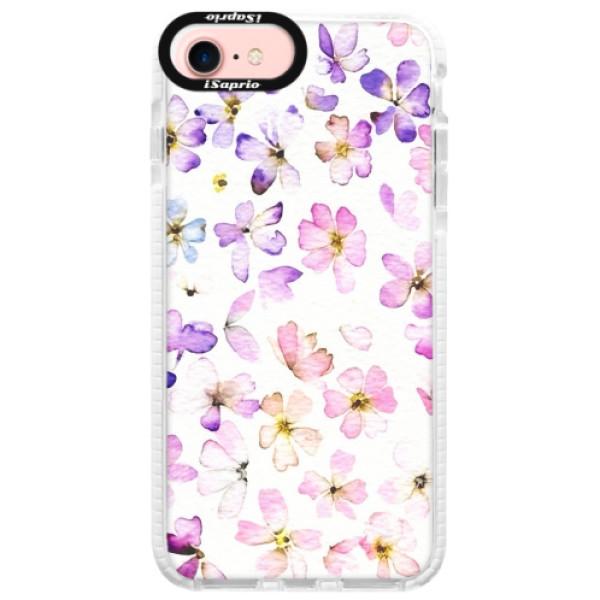 Silikonové pouzdro Bumper iSaprio - Wildflowers - iPhone 7