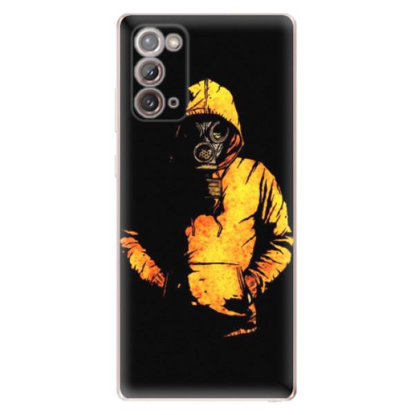 Odolné silikonové pouzdro iSaprio - Chemical - Samsung Galaxy Note 20