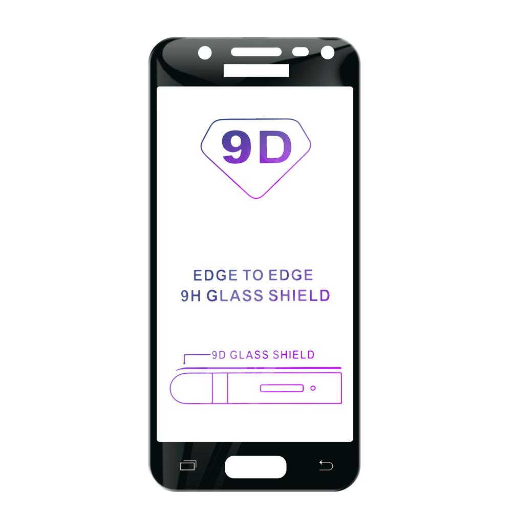 Tvrzené sklo iSaprio 9D BLACK pro Samsung Galaxy J3 2017