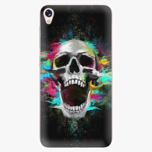Plastový kryt iSaprio - Skull in Colors - Asus ZenFone Live ZB501KL