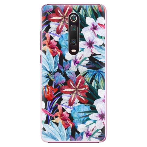 Plastové pouzdro iSaprio - Tropical Flowers 05 - Xiaomi Mi 9T