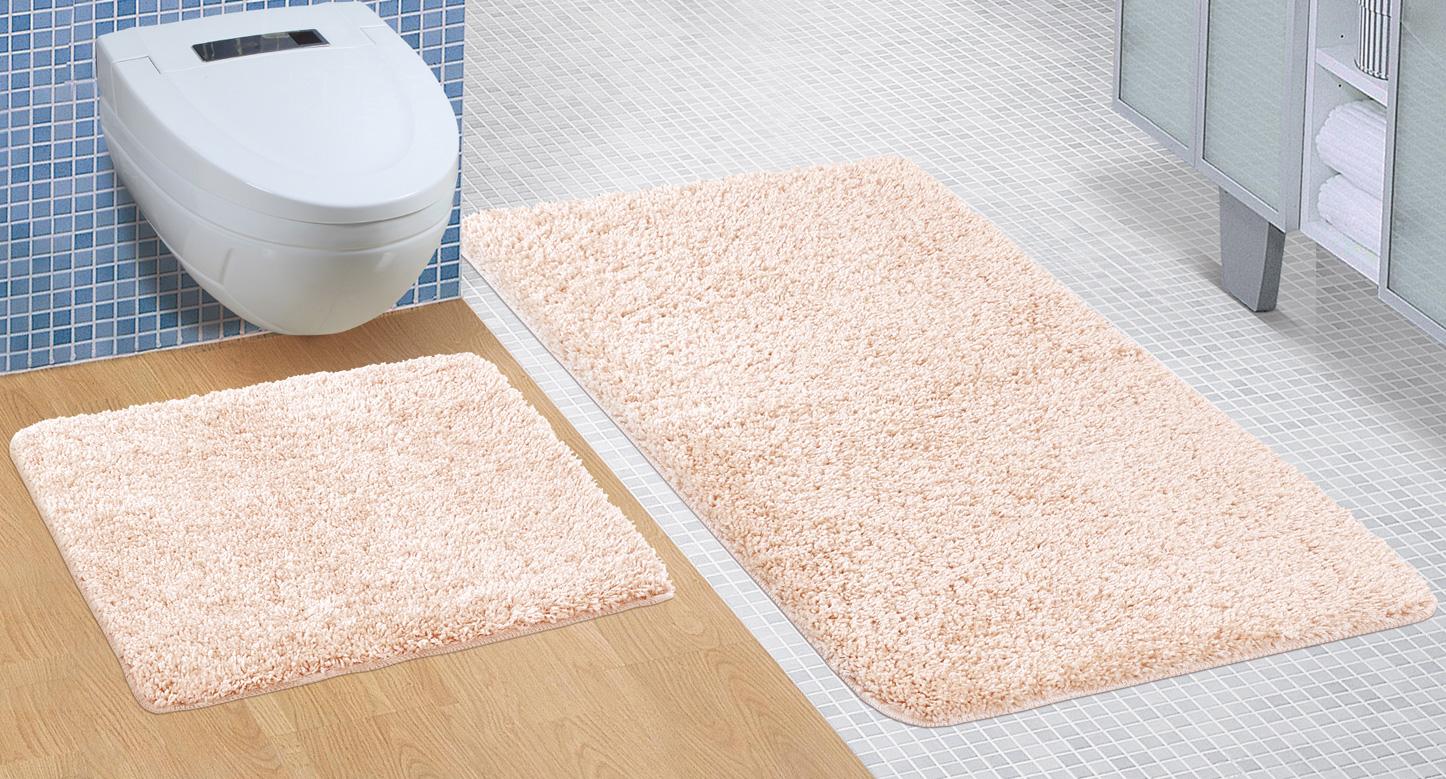 Koupelnová sada předložek Micro 60x100+60x50cm béžová