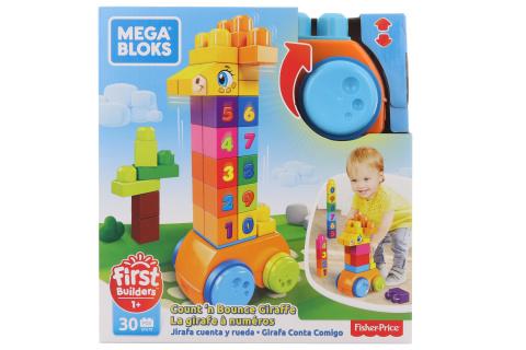 Mega Blok Žirafa (30) GFG19