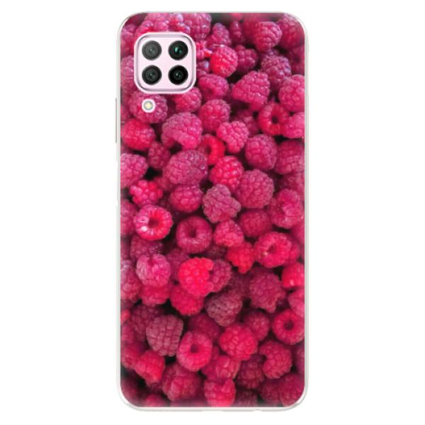 Odolné silikonové pouzdro iSaprio - Raspberry - Huawei P40 Lite