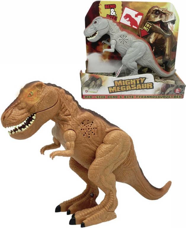 ADC Mighty Megasaur akční T-Rex dinosaurus na baterie 2 barvy