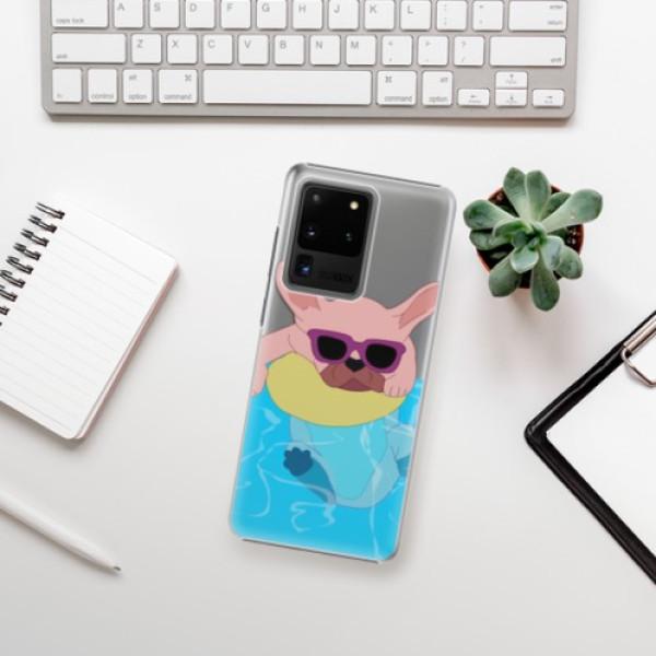 Plastové pouzdro iSaprio - Swimming Dog - Samsung Galaxy S20 Ultra