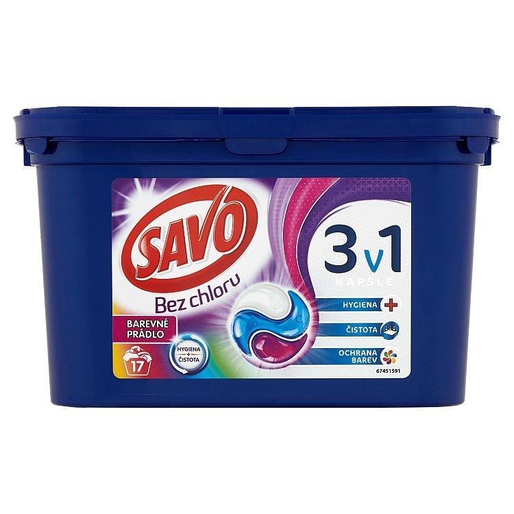 Color trio kapsle na praní bez chloru (17 praní)