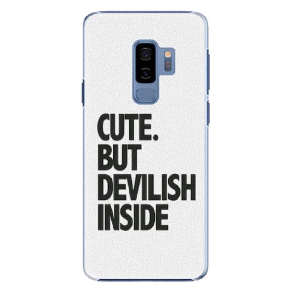 Plastové pouzdro iSaprio - Devilish inside - Samsung Galaxy S9 Plus