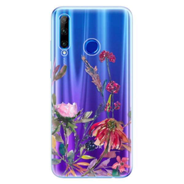 Odolné silikonové pouzdro iSaprio - Herbs 02 - Huawei Honor 20 Lite