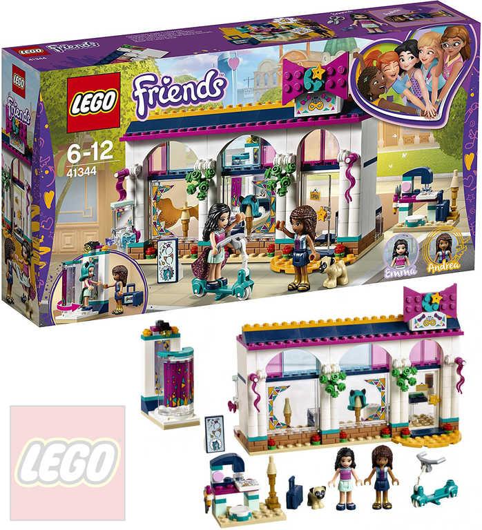 LEGO FRIENDS Andrea a její obchod s módními doplňky 41344