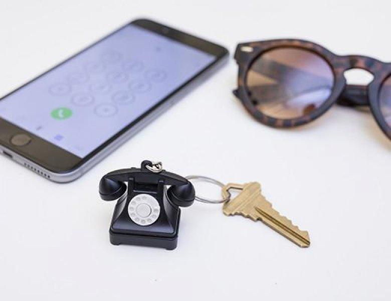 Klíčenka - Retro telefon