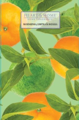 ALBI Vonná svíčka - Mandarinka