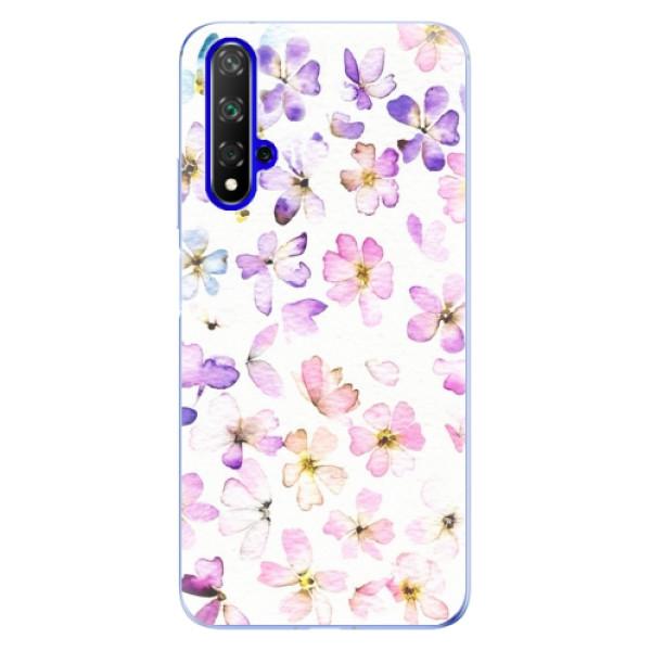 Odolné silikonové pouzdro iSaprio - Wildflowers - Huawei Honor 20
