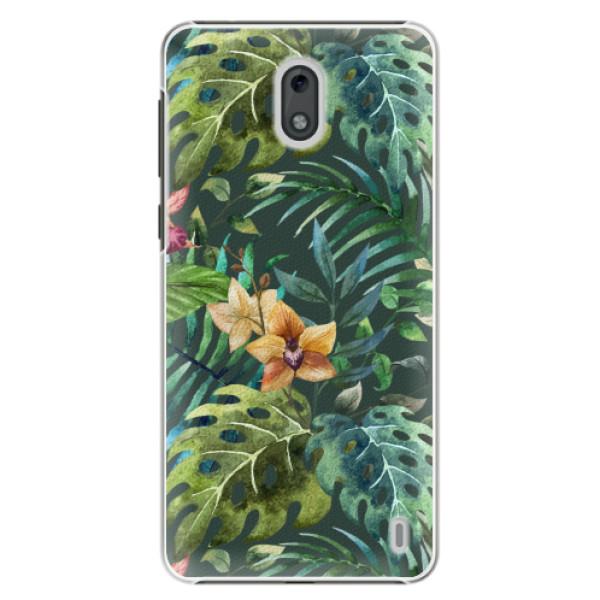 Plastové pouzdro iSaprio - Tropical Green 02 - Nokia 2