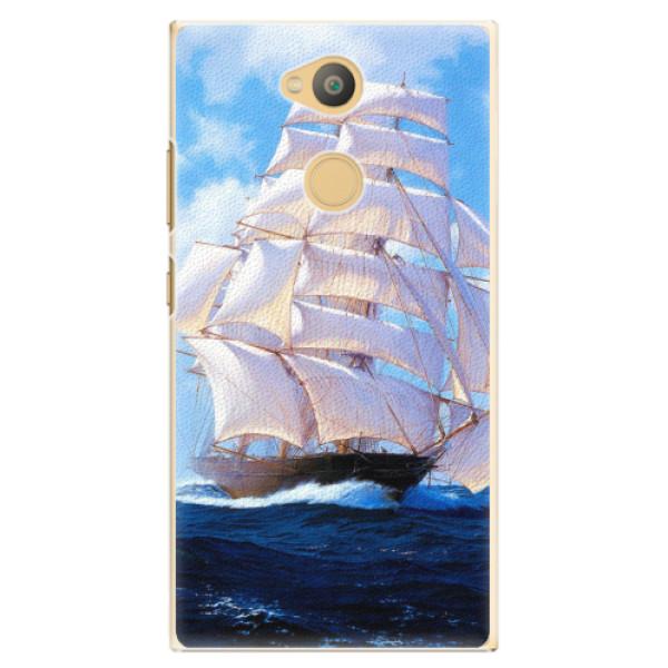 Plastové pouzdro iSaprio - Sailing Boat - Sony Xperia L2