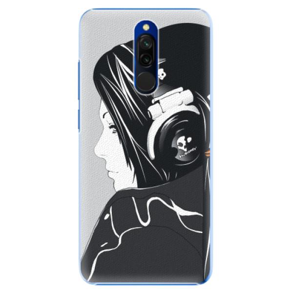 Plastové pouzdro iSaprio - Headphones - Xiaomi Redmi 8