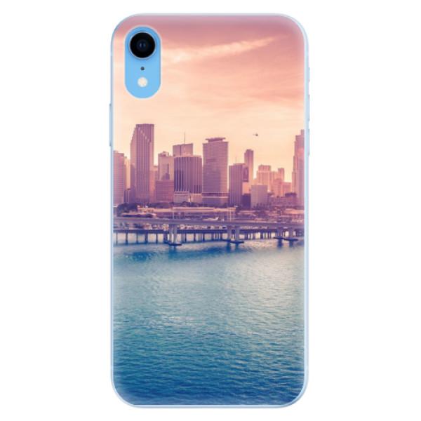 Odolné silikonové pouzdro iSaprio - Morning in a City - iPhone XR