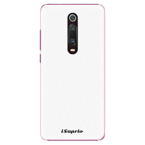 Plastové pouzdro iSaprio - 4Pure - bílý - Xiaomi Mi 9T
