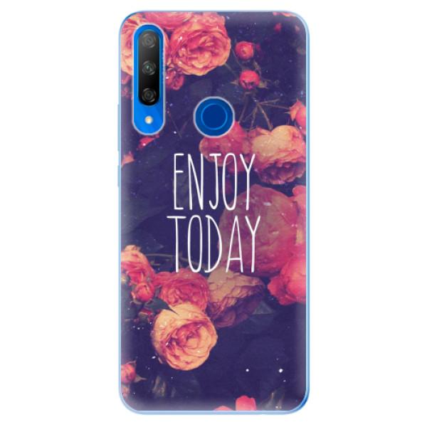 Odolné silikonové pouzdro iSaprio - Enjoy Today - Huawei Honor 9X