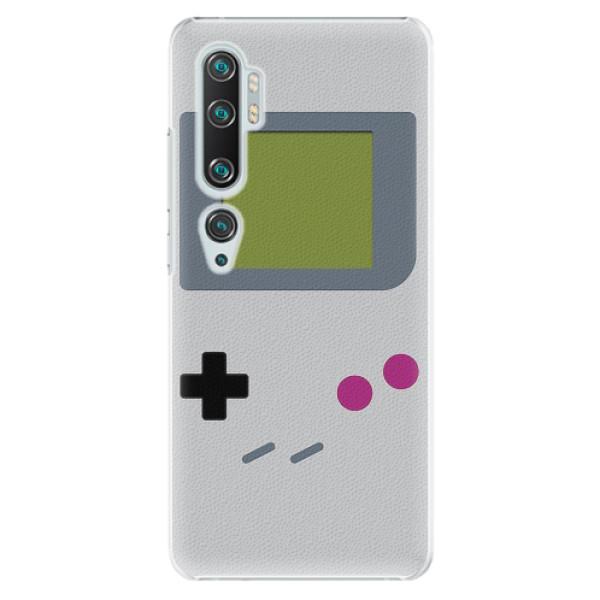 Plastové pouzdro iSaprio - The Game - Xiaomi Mi Note 10 / Note 10 Pro