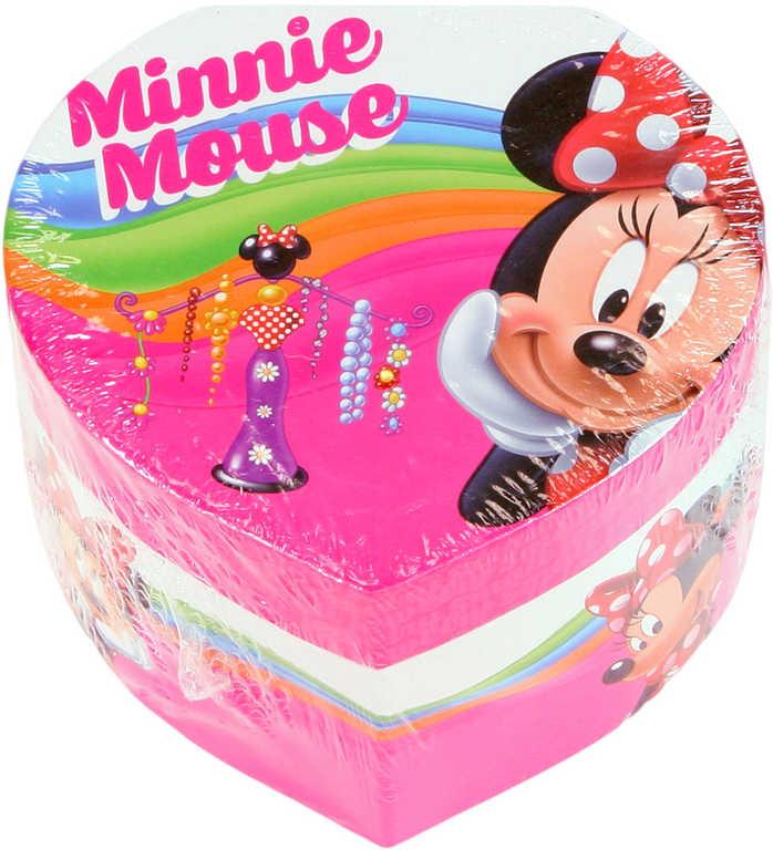 Šperkovnice dětská srdce Disney Minnie Mouse tvrdý karton