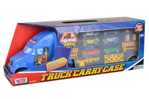 Kamion s autíčky a doplňky