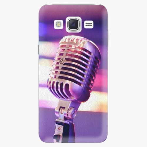Plastový kryt iSaprio - Vintage Microphone - Samsung Galaxy J5