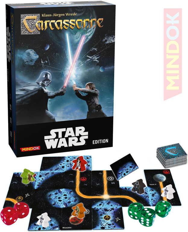 MINDOK HRA Carcassonne Star Wars (Hvězdné Války) *SPOLEČENSKÉ HRY*