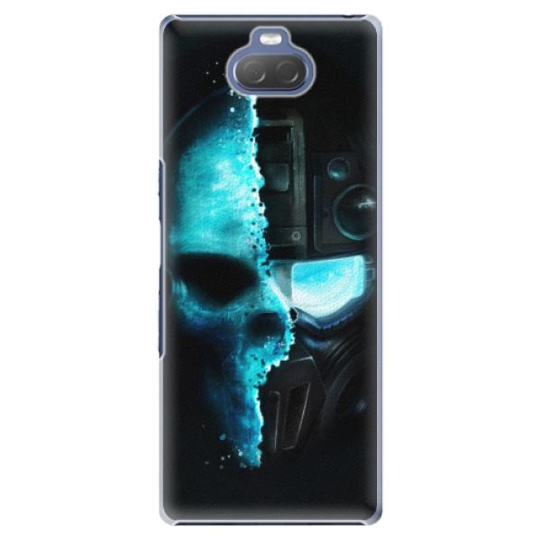 Plastové pouzdro iSaprio - Roboskull - Sony Xperia 10 Plus