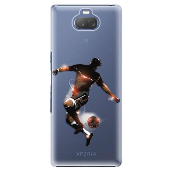 Plastové pouzdro iSaprio - Fotball 01 - Sony Xperia 10