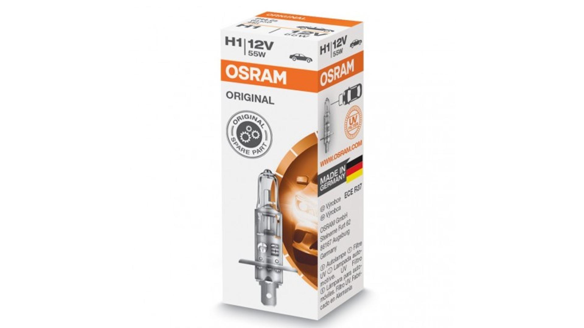 OSRAM Žárovka H1 12V 55W P14,5S