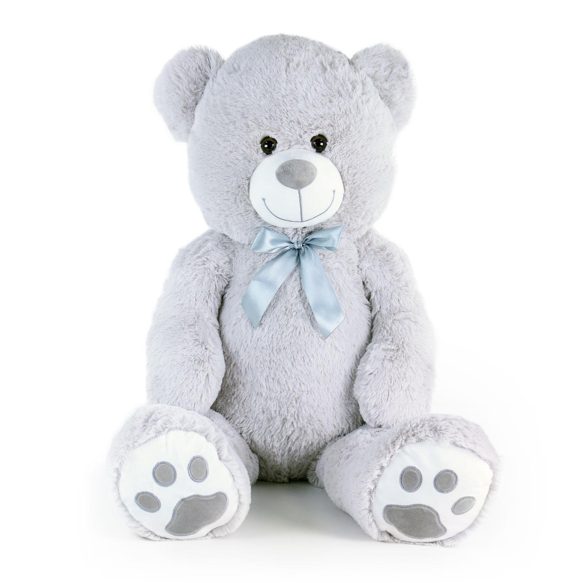 Velký plyšový medvěd Bady s visačkou 100 cm