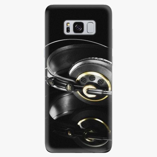 Silikonové pouzdro iSaprio - Headphones 02 - Samsung Galaxy S8