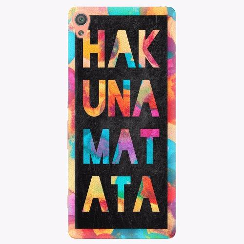 Plastový kryt iSaprio - Hakuna Matata 01 - Sony Xperia XA