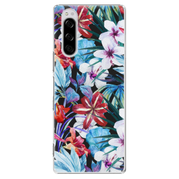 Plastové pouzdro iSaprio - Tropical Flowers 05 - Sony Xperia 5