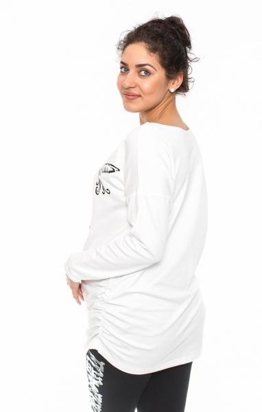 Be MaaMaa Těhotenské triko, mikina Kolibri