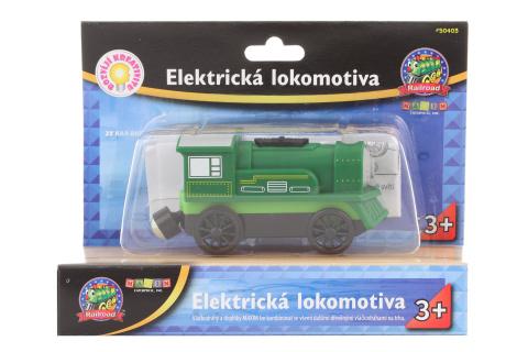 Maxim Elektrická lokomotiva - zelená