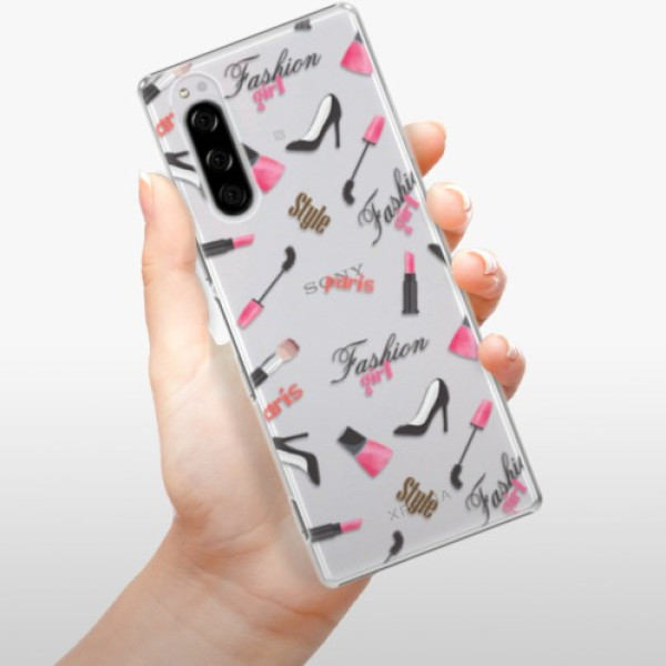 Plastové pouzdro iSaprio - Fashion pattern 01 - Sony Xperia 5