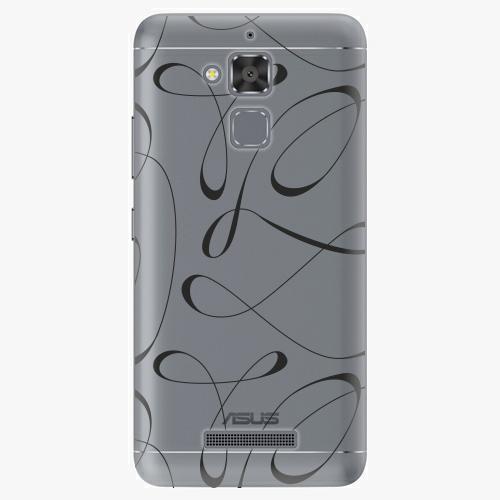 Plastový kryt iSaprio - Fancy - black - Asus ZenFone 3 Max ZC520TL