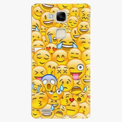 Plastový kryt iSaprio - Emoji - Huawei Mate7