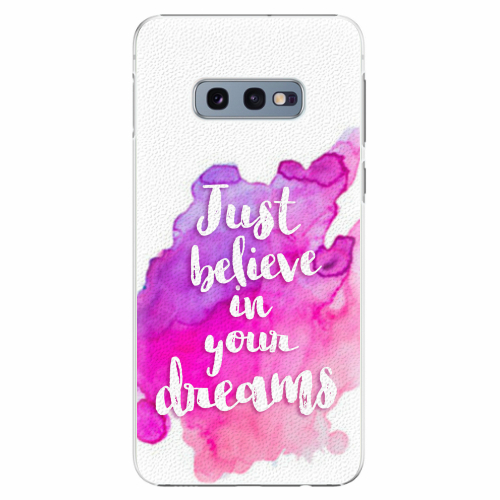 Plastový kryt iSaprio - Believe - Samsung Galaxy S10e