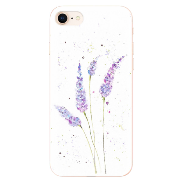 Odolné silikonové pouzdro iSaprio - Lavender - iPhone 8