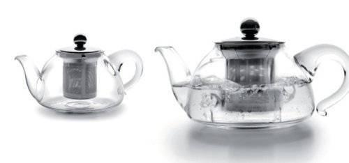 Skleněná čajová konvička s filtrem 800ml