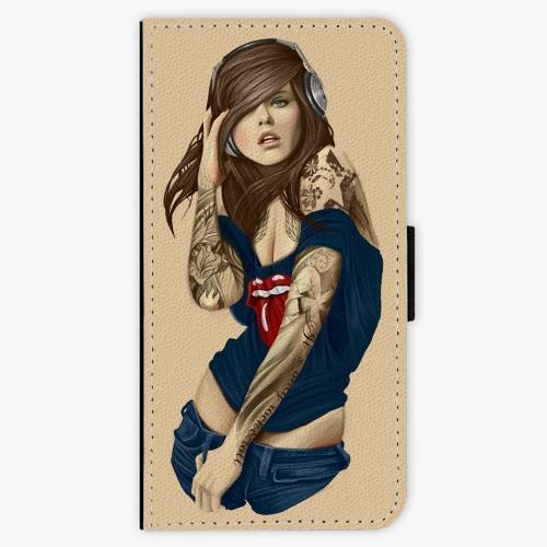 Flipové pouzdro iSaprio - Girl 03 - iPhone 7 Plus